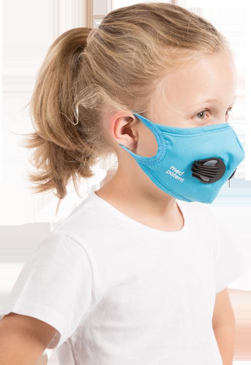 maska antysmogowa dla dzieci