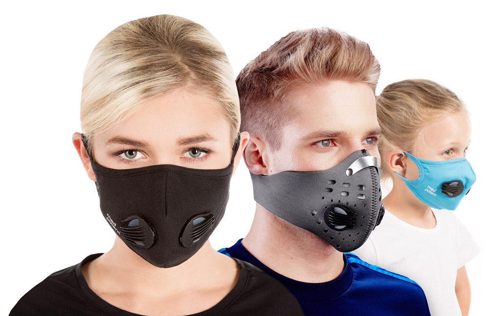 maseczka na twarz przeciw smogowi
