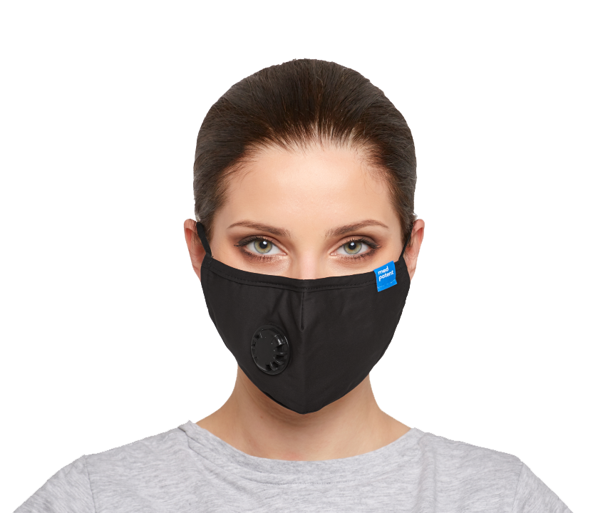 Maska antysmogowa BASIC z filtrem N95 (FFP2): maseczka ffp2