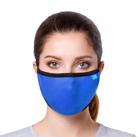 Maska CASUAL z filtrem N95 (FFP2) w kolorze kobaltowym: maseczka ffp2