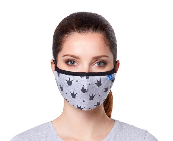 """Maska CASUAL z filtrem N95 (FFP2) """"korony"""": maseczka ffp2"""