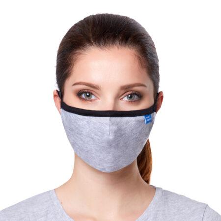 Maska CASUAL z filtrem N95 (FFP2) w kolorze szarym: maseczka ffp2
